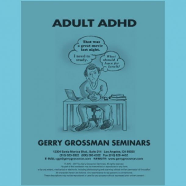 Adult AD/HD Online Text-based Home Course (5 CE)