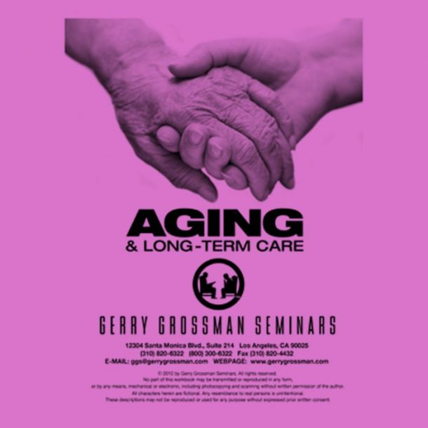 Aging and Long-Term Care CE Text-based Home Course (10 CE)