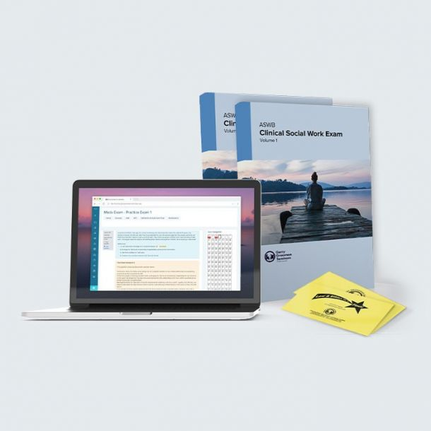 LCSW ASWB Clinical Exam Prep Self-Study Package