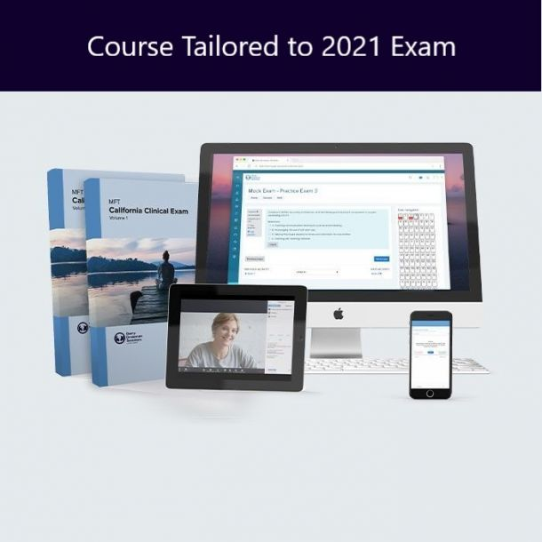 MFT California Clinical Exam Prep Course with Live Online Workshop