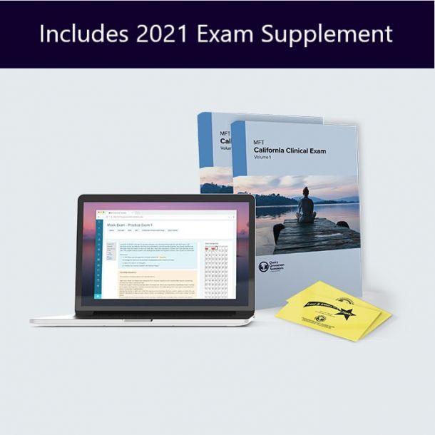 MFT California Clinical Exam Prep Self-Study Course