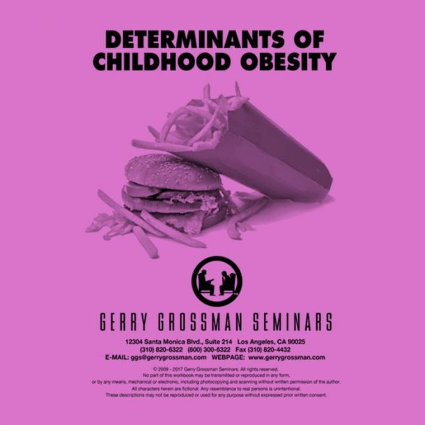 Determinants of Childhood Obesity Online Text-based Home Course (4 CE)