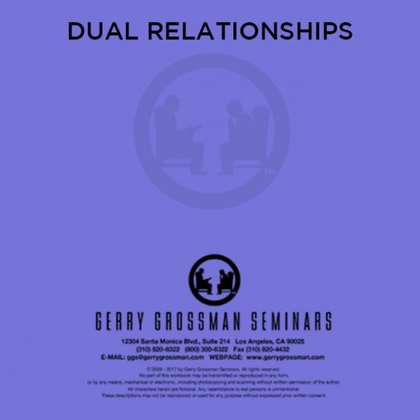 Dual Relationships Text-based Home Course (1 CE)