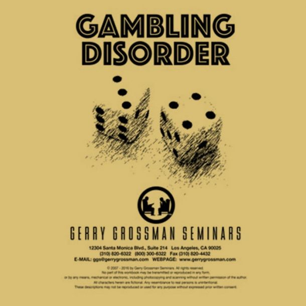 Gambling Disorder Text-based Home Course (3 CE)