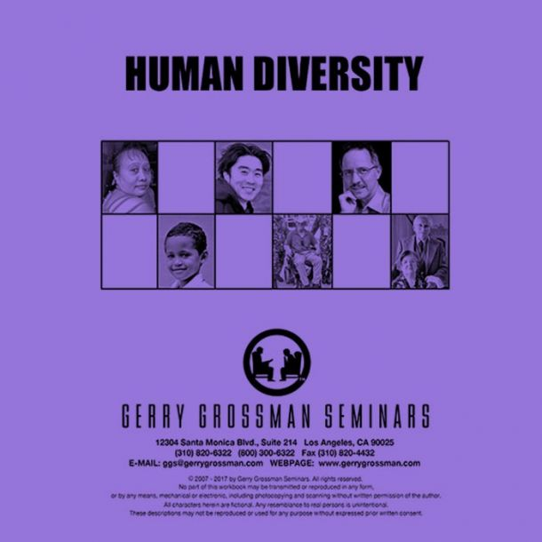 Human Diversity Text-based Home Course (3 CE)