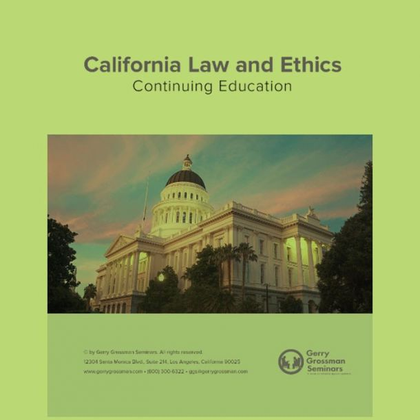 Law and Ethics 2021 Text-based Home Course (6 CE)