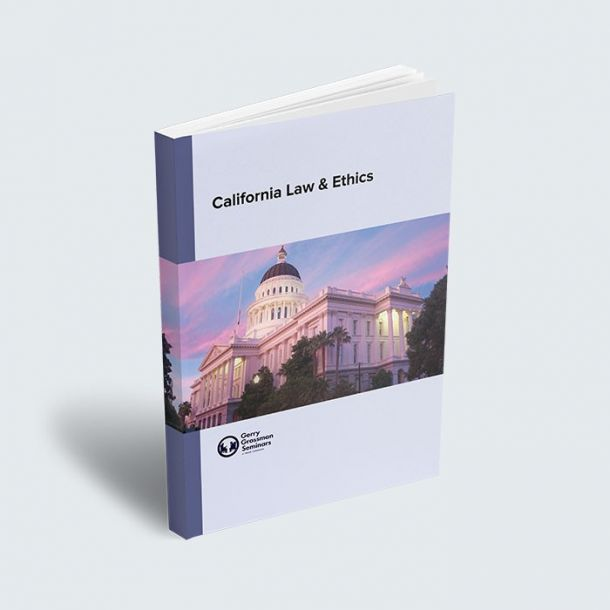 LPCC California Law and Ethics Exam Textbook