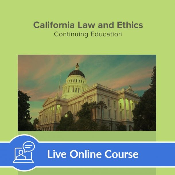 Law and Ethics - Live Online (6 CE)