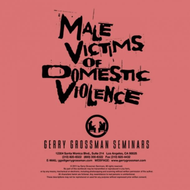 Male Victims of Domestic Violence Text-based Home Course (4 CE)