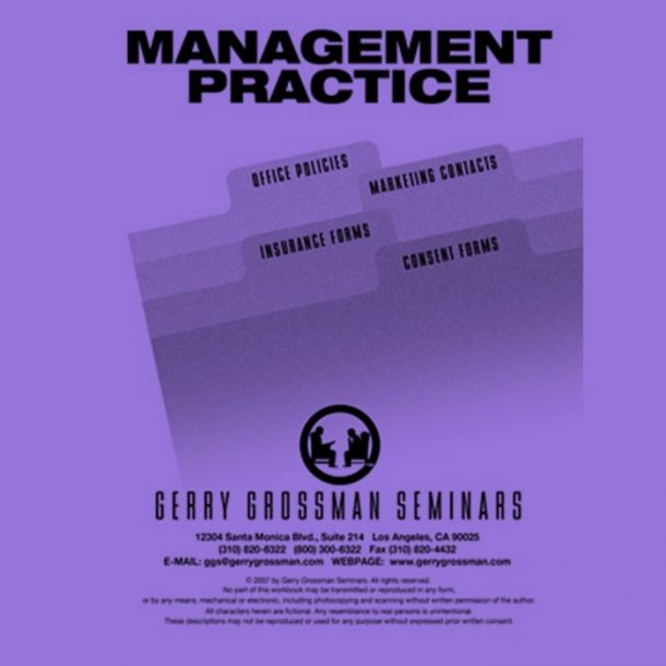 Management Practices Text-based Home Course (1 CE)