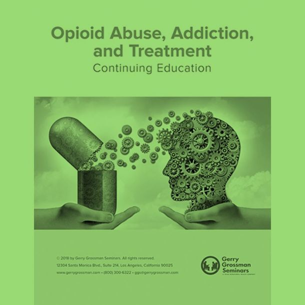 Opioid Abuse Text-based Home Course (4 CE)