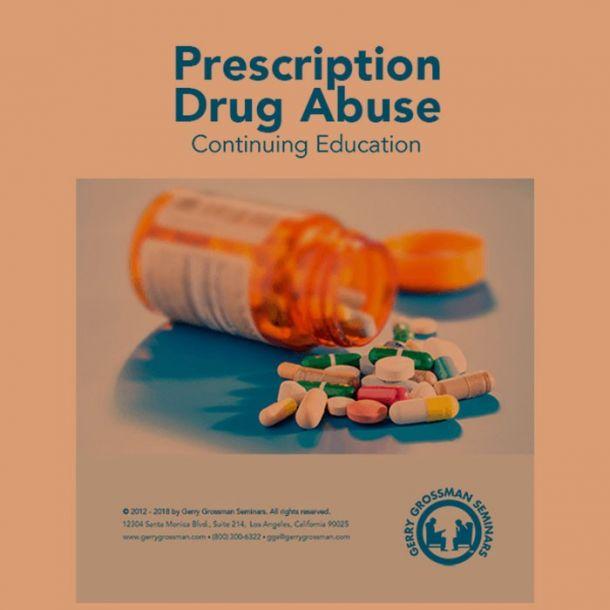 Prescription Drug Abuse Online Text-based Home Course (2 CE)