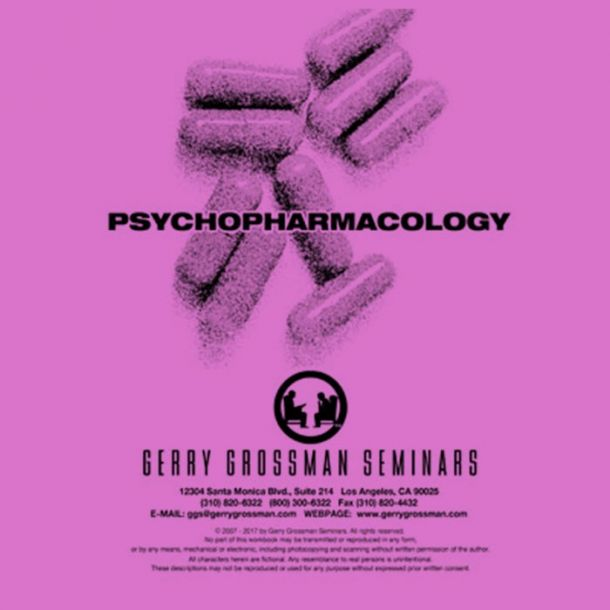 Psychopharmacology Text-based Home Course (2 CE)
