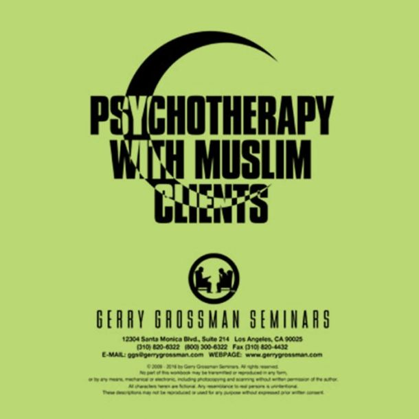 Psychotherapy with Muslim Clients Text-based Home Course (3 CE)