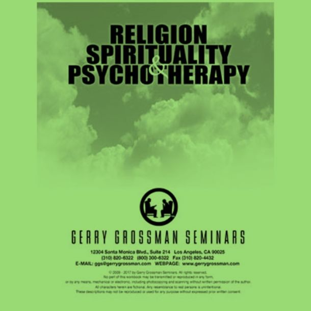 Religion, Spirituality and Psychotherapy Text-based Home Course (7 CE)