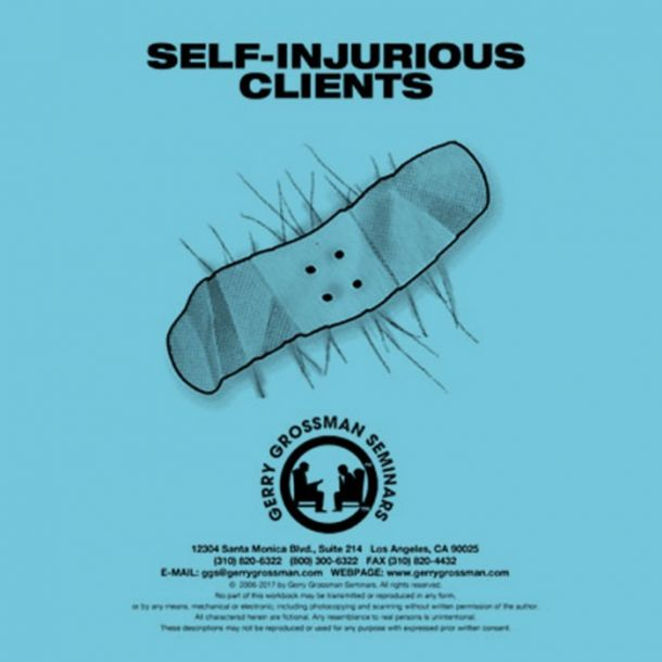 Self-Injurious Clients Text-based Home Course (3 CE)