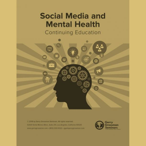 Social Media and Mental Health Text-based Home Course (3 CE)