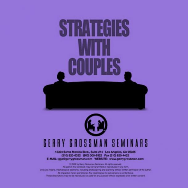 Strategies With Couples Text-based Home Course (3 CE)