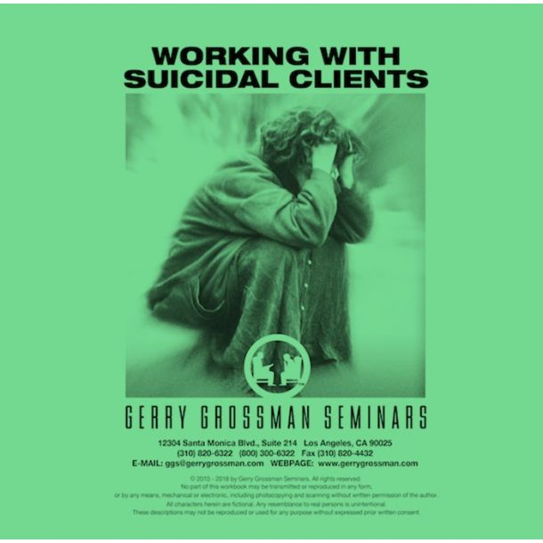 Working With Suicidal Clients Online Text-based Home Course (3 CE)