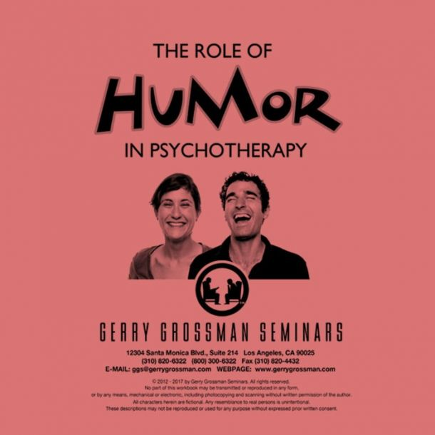 The Role of Humor in Psychotherapy Text-based Home Course (3 CE)