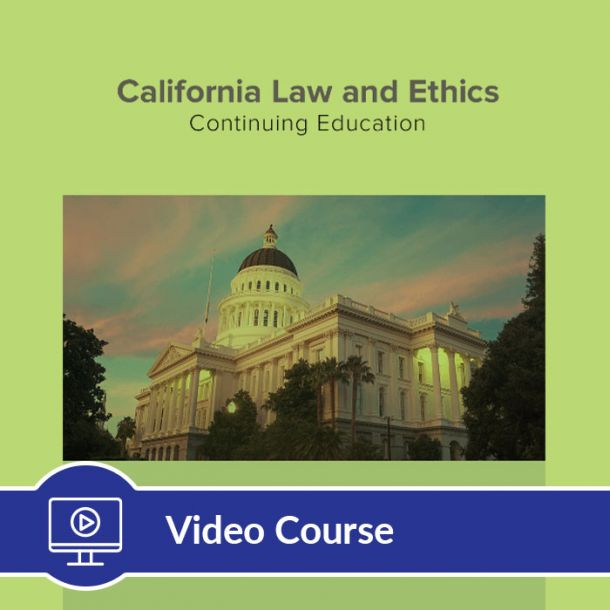 6-Hour CE Law and Ethics Video Course